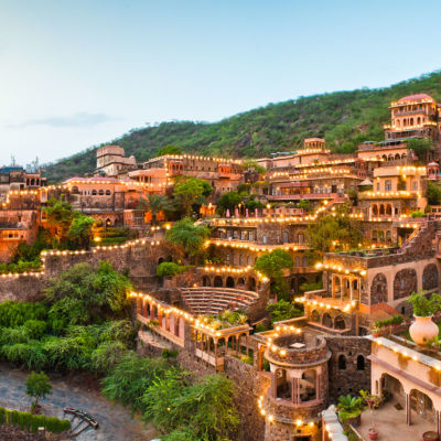 Facade Premises  Neemrana Fort Palace  palace hotel in Rajasthan 14 4