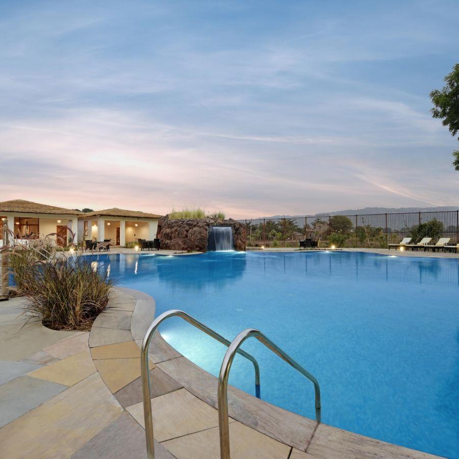Swimming Pool - The Baagh Ananta Elite, Luxury resort in Ranthambore 2