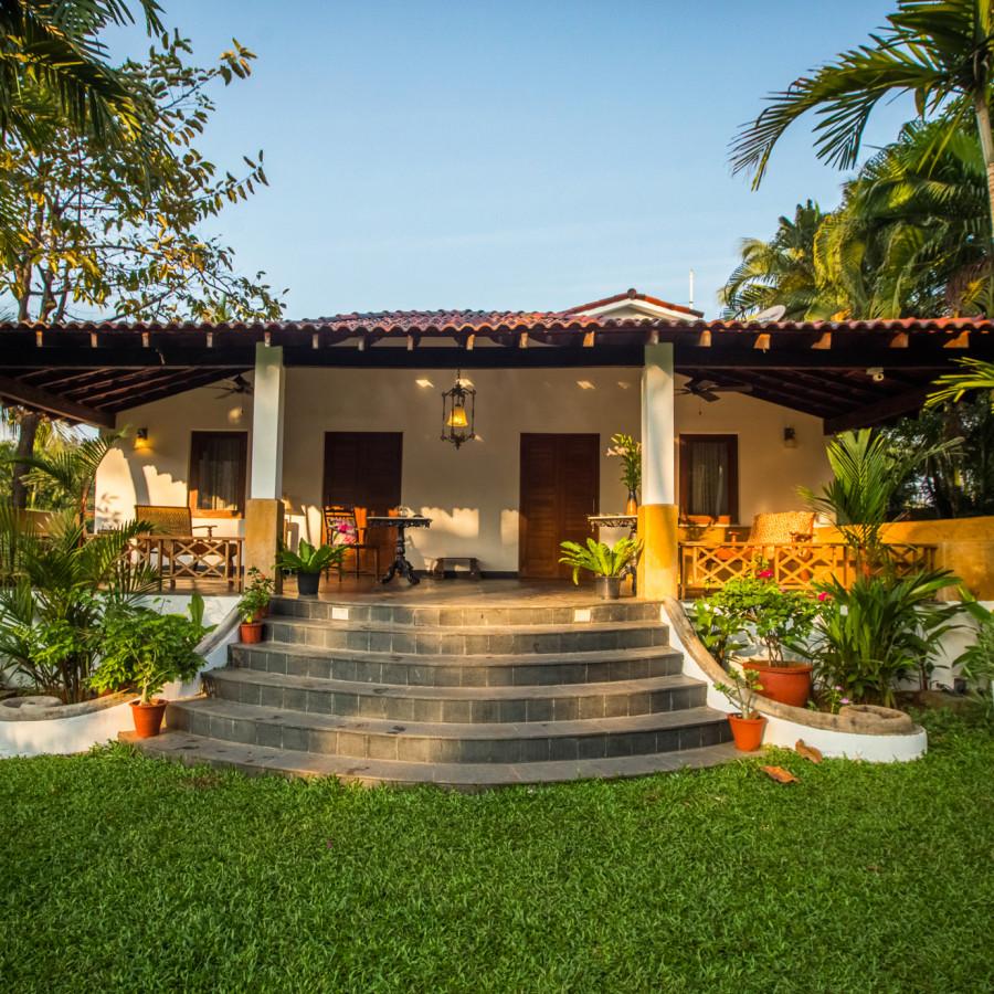 alt-text Entrance, Hamsa Villas Goa, Best Resort In Goa