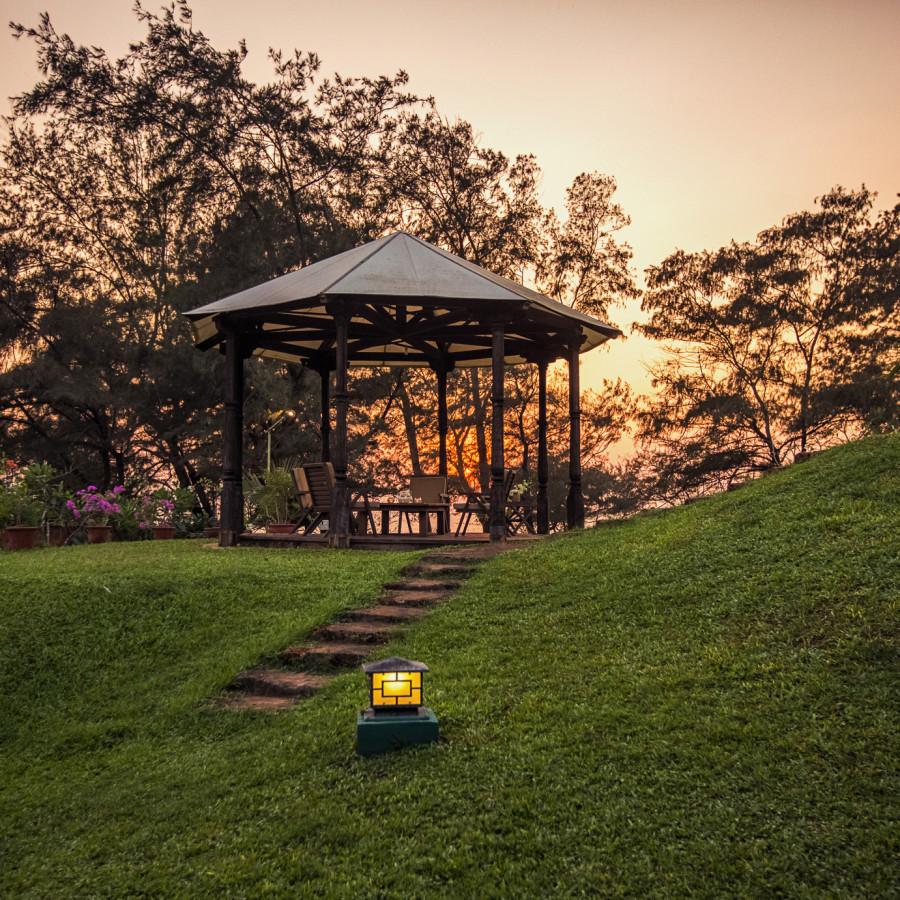alt-text Sunset View at Hamsa Villas Goa, Resort in Goa 5