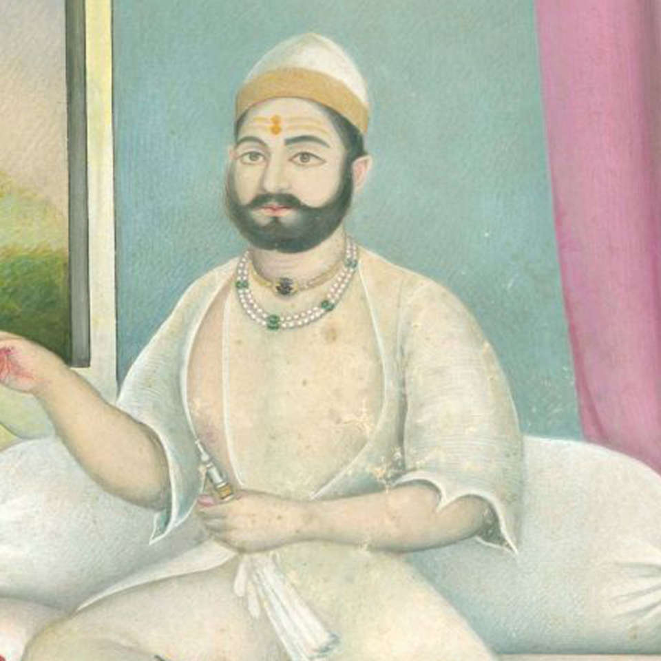 Tijara Fort-Palace - 19th Century, Alwar Alwar Raja Balwant Singh