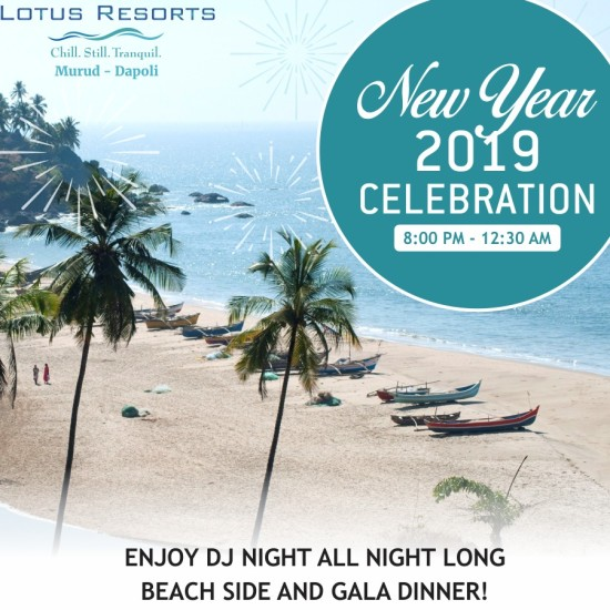 Lotus Murud New Year PARTY CREATIVE - Regular Guests