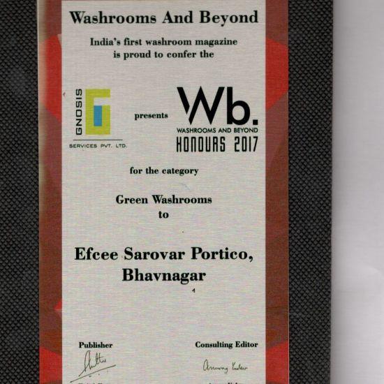 WB Swatchta Awards , Efcee Sarovar Portico , Best Hotels in Bhavnagar  4 1