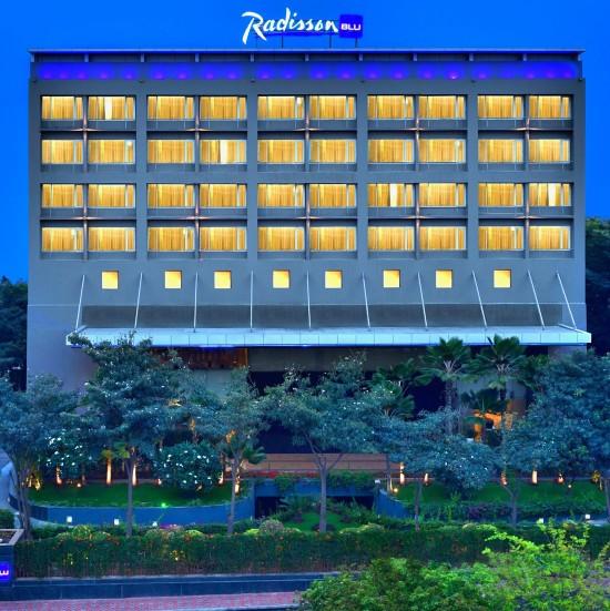 Facade at Radisson Blu - Bengaluru Outer Ring Road