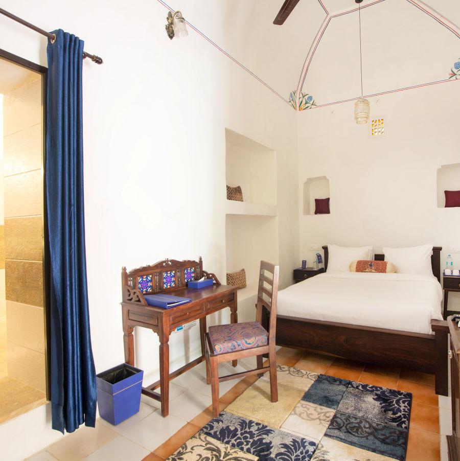 alt-text Superior Room at Bara Bungalow Kalwar, Jaipur 1, Jaipur rooms, Stay in Jaipur