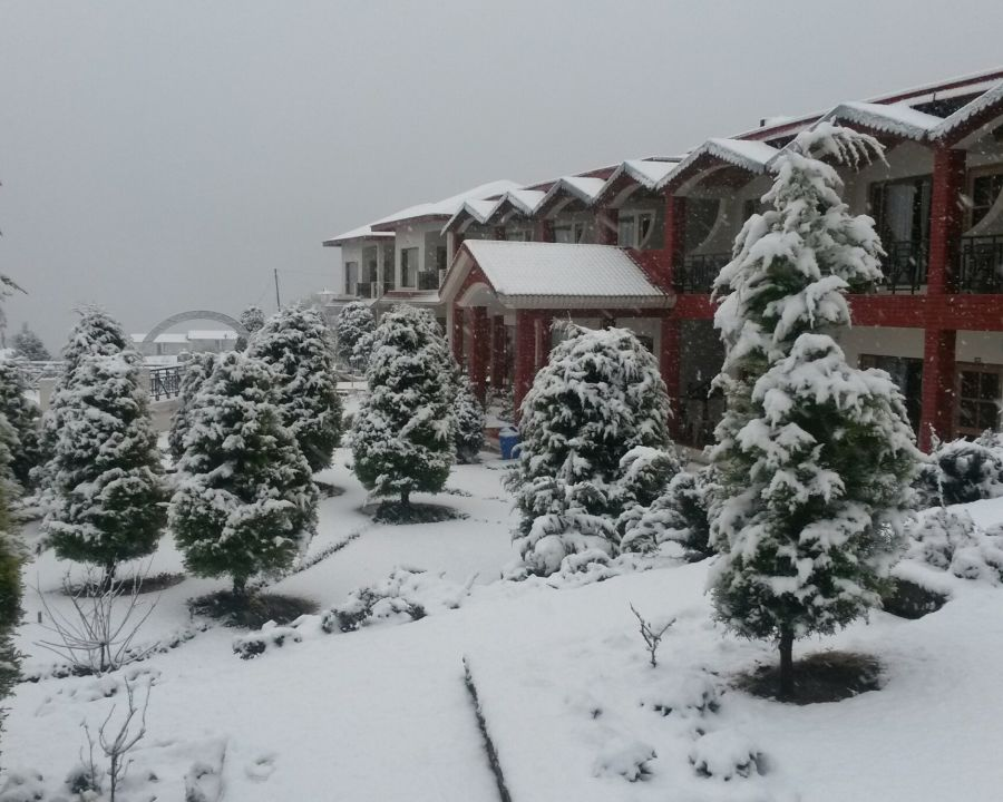 alt-text Ojaswi Resort, Chaukori Chaukori Snow Capped 4 Ojaswi Hotel and Resort in Chaukori