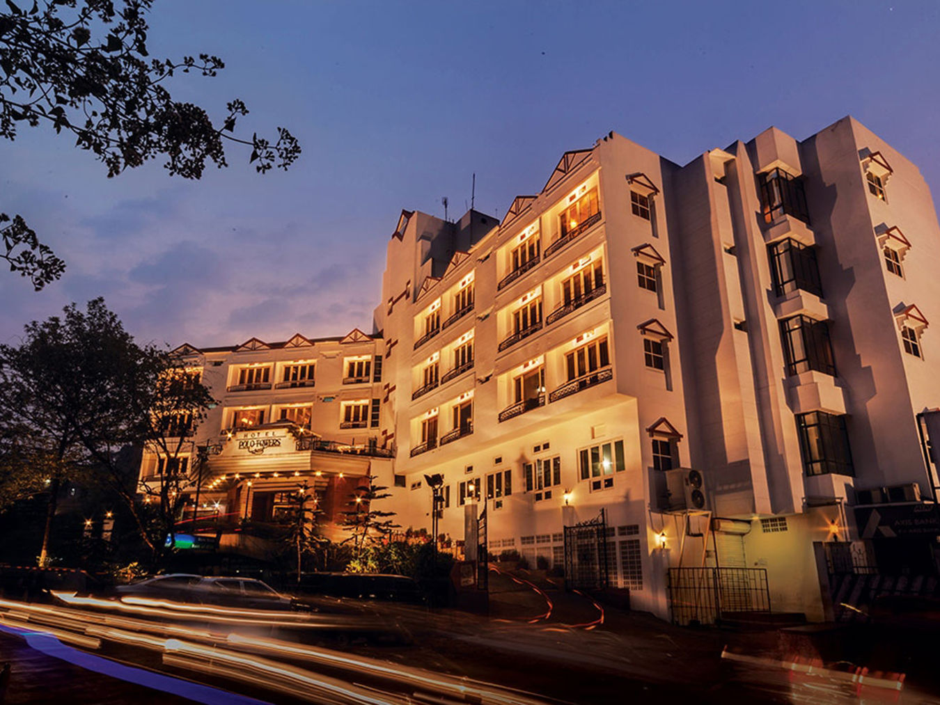 Exterior view of our hotel in Shillong, Hotel Polo Towers, Shillong- 23