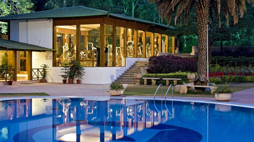 Swimming Pool at Clarks Amer Jaipur - 5 Star Hotel In Jaipur Near Airport