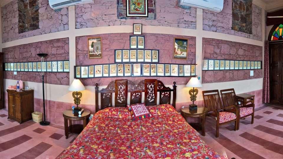 Neemrana Fort Palace Neemrana Sutra Mahal Hotel Neemrana Fort Palace Neemrana Rajasthan 1