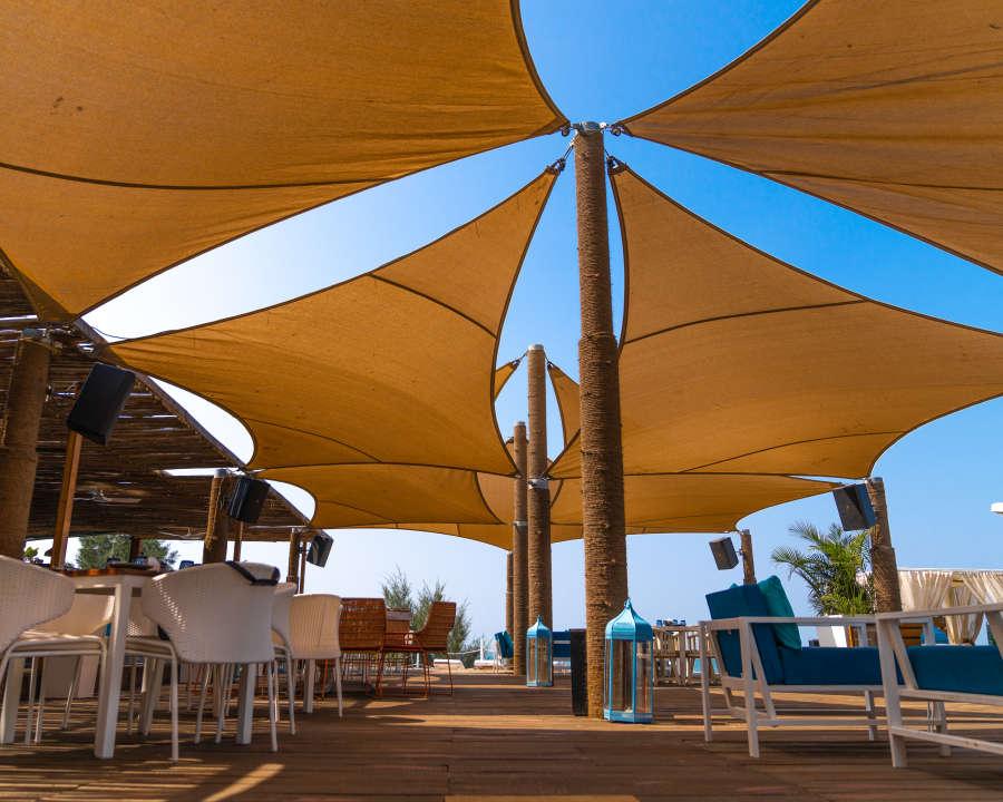 alt-text Resort in Morjim, Living Room Beach Resort, Goa, Morjim Resort 11