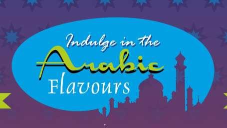 VITS Hotel, Mumbai Mumbai VITS - Arabic Food Menu A5