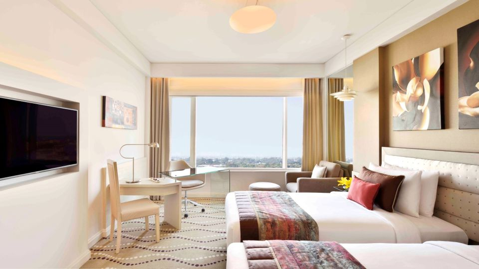 Executive Club Twin bed Rooms  at Radisson Blu - Bengaluru Outer Ring Road 5