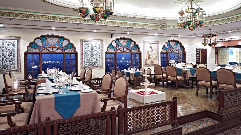 rajasthani Restaurant in Jaipur, Dhola Maru Restaurant at Clarks Amer 5 Star Hotel in Jaipur efaew4