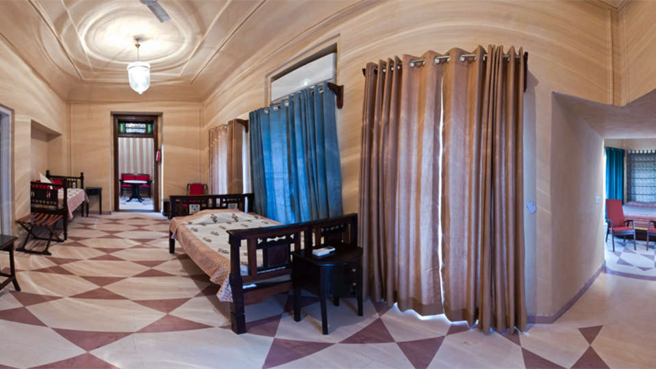 The Anupam Mahal_Tijara Fort Palace_ Hotel Rooms in Rajasthan_Rooms Near Jaipur