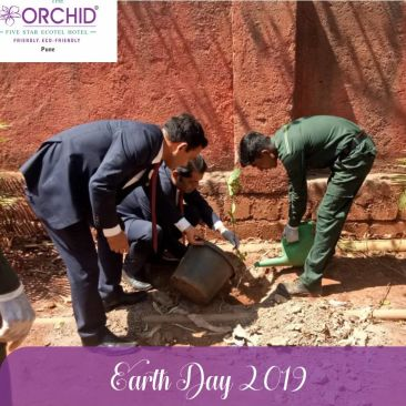 Earth Day 3 the orchid hotel pune