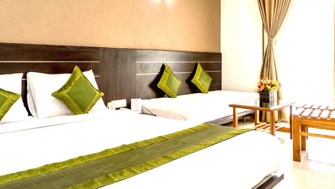 Privilage Tripple Rooms at Pushpak Resort, Shirdi