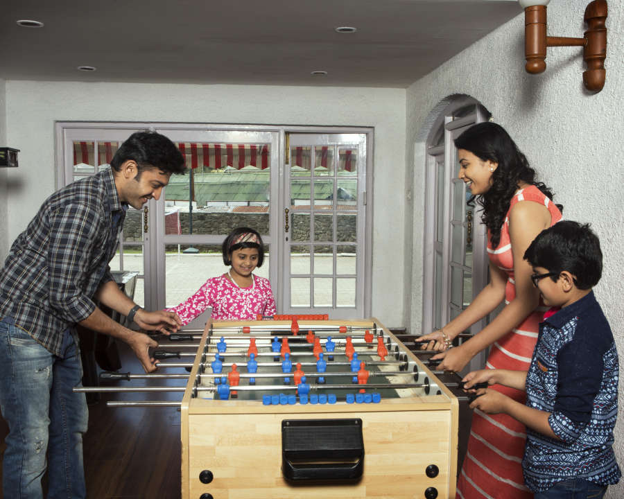 alt-text Foosball, The Carlton Hotel,  Hotel near Kodaikanal lake