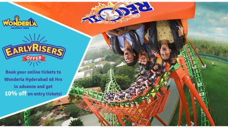 Wonderla Amusement Parks & Resort  Early Risers offer 2