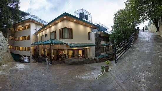 4-Star Hotel in Dehradun, Hotel Pacific Mussoorie, Facade1