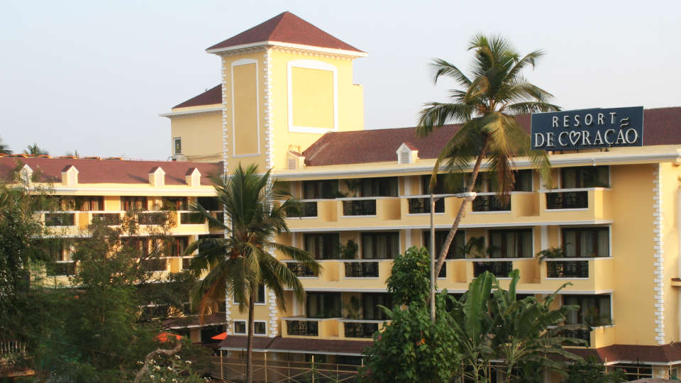 Exterior Resort De Coracao Goa 3
