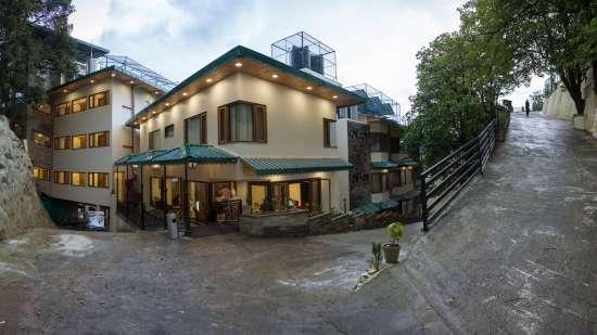 Hotel Pacific Mussoorie, Facade1