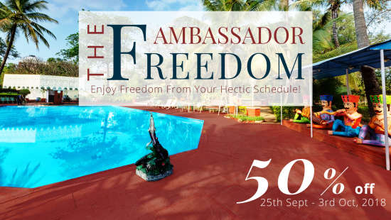 The Ambassador Fredom 50 off at Ambassador Ajanta Aurangabad 3