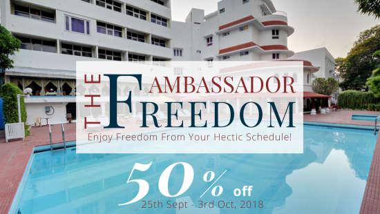 The Ambassador Freedom 50 off at Ambassador Pallava Chennai 2