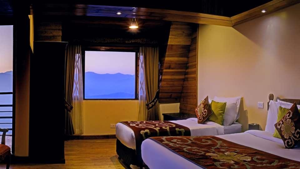 Deluxe Triple Room at Summit Hermon Hotel Spa Darjeeling 2