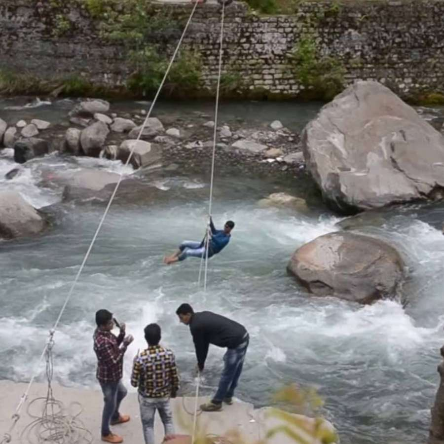 River Crossing Rock Climbing