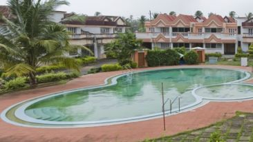Swimming Pool at Lotus Eco Beach Resort Benaulim Goa Resort, Benaulim Beach Hotel