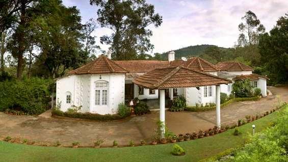 Wallwood Garden - 19th C, Coonoor  Facade Wallwood Garden Coonooor Tamil Nadu 1
