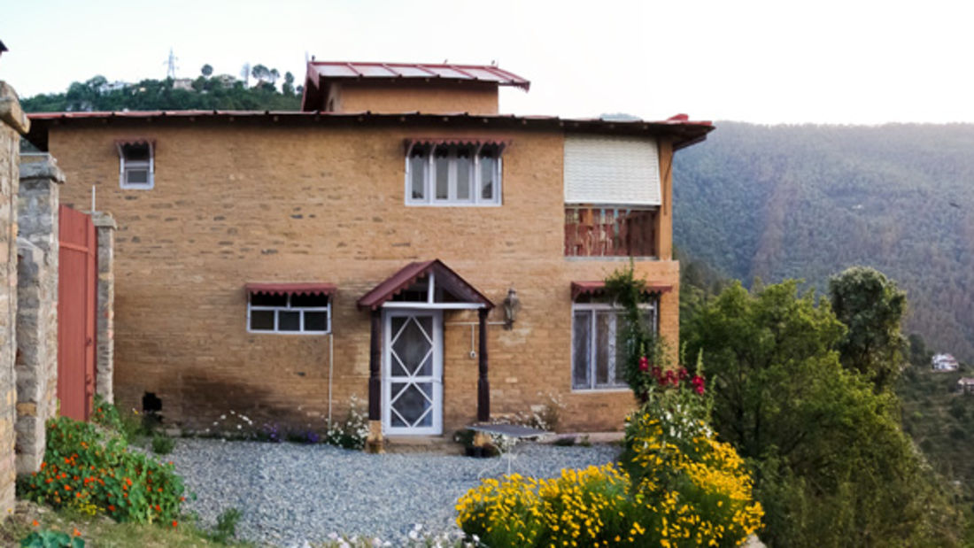 The Ramgarh Bungalows - 19th C, Kumaon Hills Kumaon Main Picture Cliff House The Ramgarh Bungalows Kumaon Hills Uttarakhand