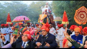 Royal Baraat Procession