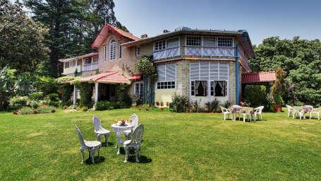 Chevron Hotels  Facade Chevron Rosemount Hotel Ranikhet