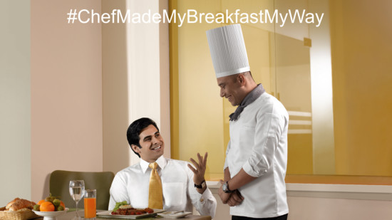 Chef made breakfast my way  Happiness offers   Sarovar Hotels - India s Leading Hotel Chain   Top hotels in India