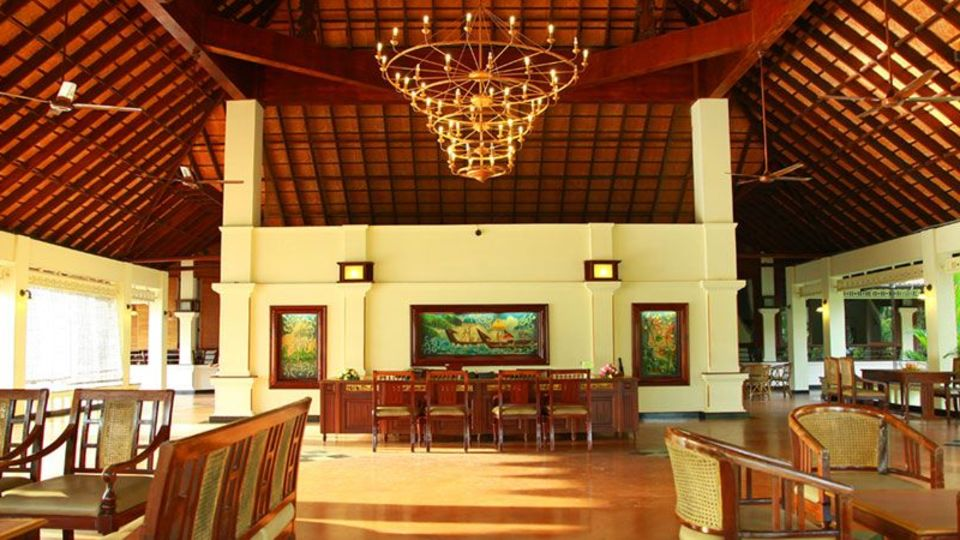 Lobby Area at our resort in Kumarakom, Abad Whispering Palms, Kumarakom-1