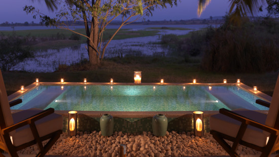 The Residence Jacuzzi, The Serai Kabini, Resorts in Kabini, Luxury Resorts In Kabini 1