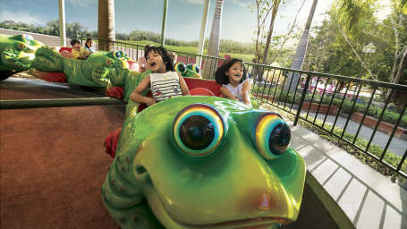 Wonderla Amusement Parks & Resort  JUMPING FROG