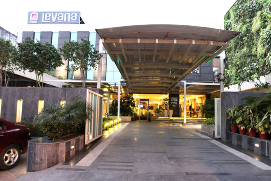 alt-text Levana Hotel Hazratganj Facade Hotels near Hazratganj Lucknow