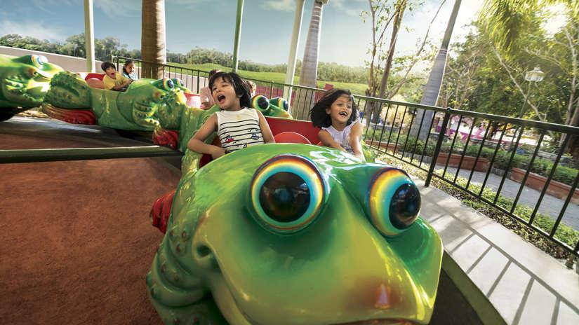Wonderla Amusement Parks & Resort  JUMPING FROG