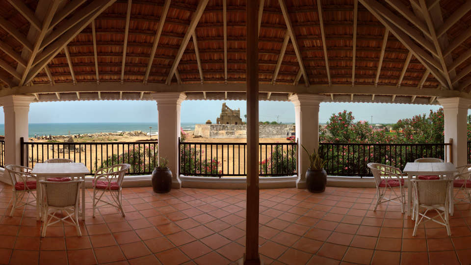 The Bungalow on the Beach - 17th Century, Tranquebar  The Bungalow on the Beach Tranquebar Tamil Nadu 2