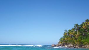 Sohoton Cove island
