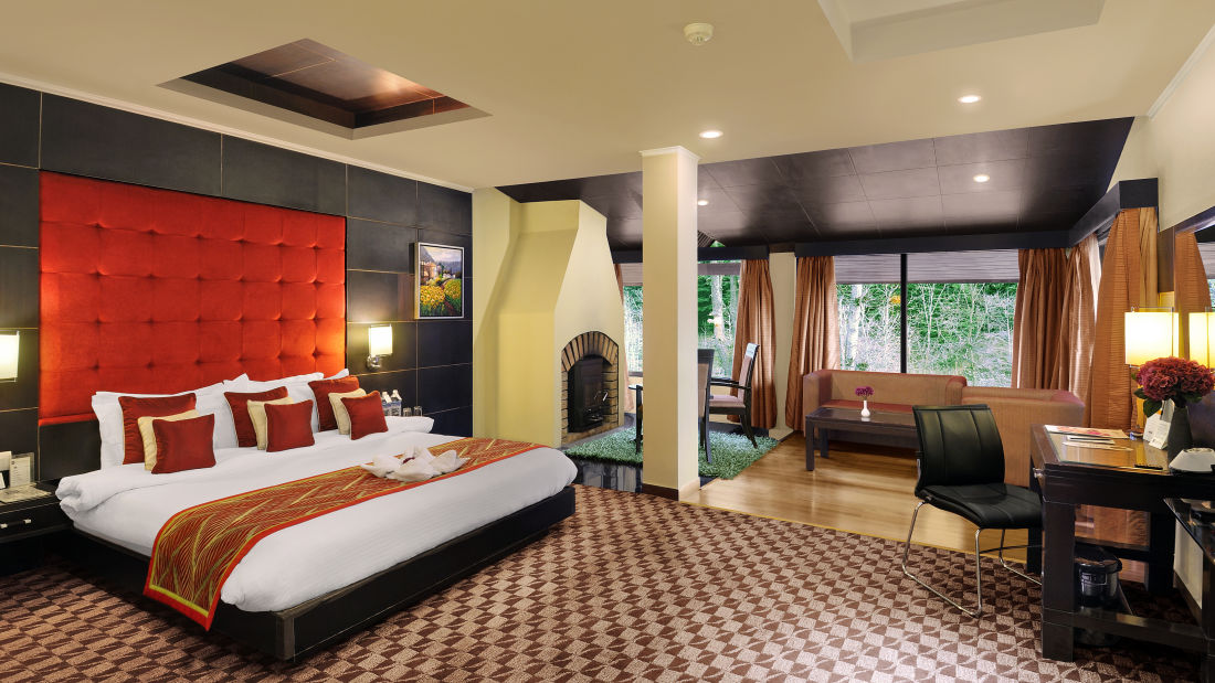 Quality Inn & Suites River Country Resort  Manali Deluxe Suite Quality Inn Suites River Country Resort Manali 2