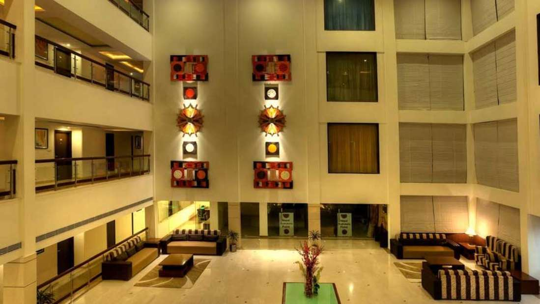 The Atrium on the Greens Katra Lobby The Atrium on the Green Katra Jammu Kashmir 2