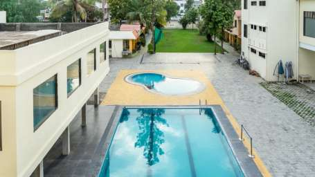 Swimming Pool at  Pushpak Resort, Shirdi
