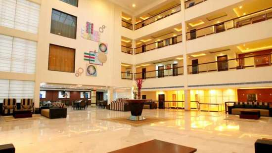 The Atrium on the Greens Katra Lobby The Atrium on the Green Katra Jammu Kashmir 1