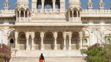 Jaswant Thada Mausoleum Park PLaza Jodhpur