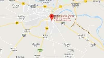 Location-Clark Shiraz Agra