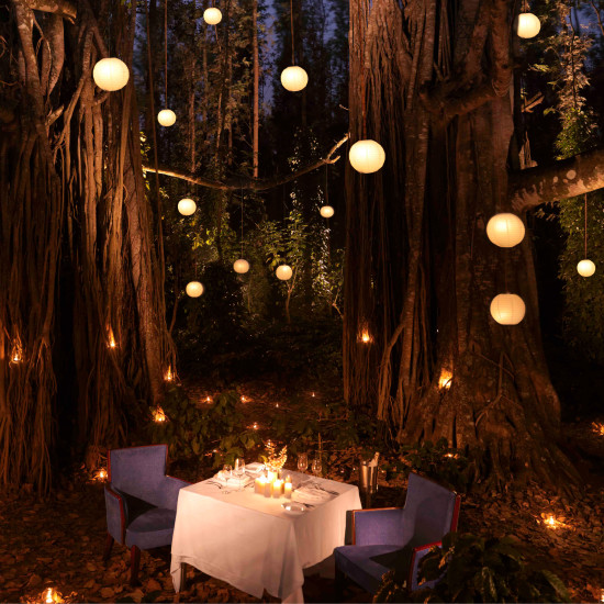 Romantic Dinner Places in Chikmagalur, The Serai Chikmagalur, Luxury Resorts in Chikmagalur