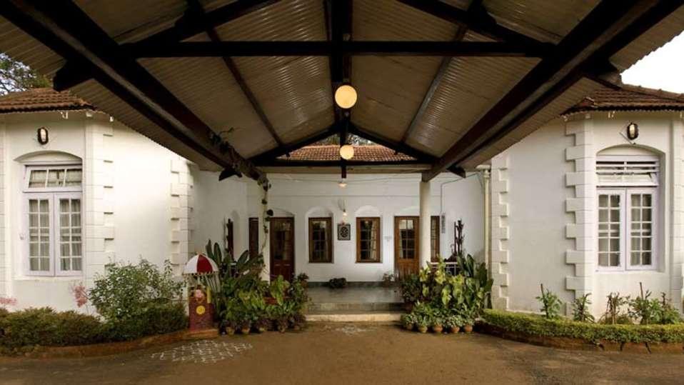 Wallwood Garden - 19th C, Coonoor  The Entrance Wallwood Garden Coonooor Tamil Nadu
